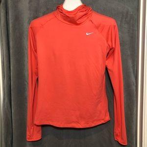 Nike Running Element Long Sleeve Dri Fit Hoodie Sm
